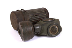 World War II gas mask (2) Stock Photos