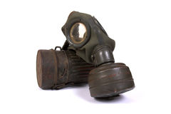 World War II gas mask (3) stock images
