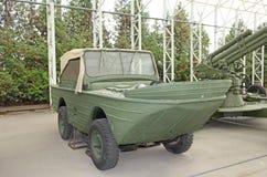 World War II German amphibia car boat Royalty Free Stock Image