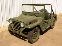 World War II Jeep Stock Photo