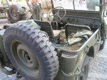 World War II jeep willy Stock Photography