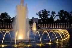 World War II Memorial stock image