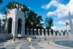 World War II Memorial Royalty Free Stock Photo