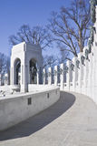 World War II Memorial. Captured on sunny winter day Royalty Free Stock Photography