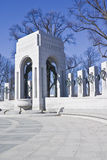 World War II Memorial. Captured on sunny winter day stock photos