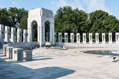 World War II Memorial for the American People Royalty Free Stock Photography