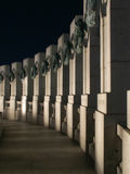 World War II Memorial, Atlantic Side stock photos