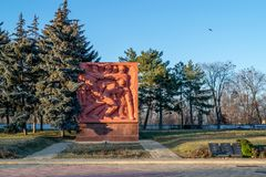 World War II Memorial Complex Eternity in Chisinau, Republic of. Chisinau, Republic of Moldova Royalty Free Stock Photo