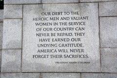 World War II Memorial. Detail shot of the World War II Memorial in Washington DC stock images