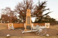 World War II memorial - Ermelo, South Africa Stock Photography