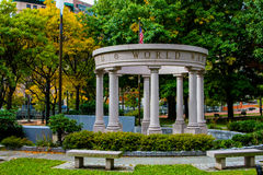 World War II Memorial. Royalty Free Stock Photography
