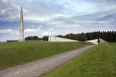 World War II Memorial on Mary Hill Maarjamae in the district of Pirita, Tallinn , the capital of Estonia.  Stock Photos