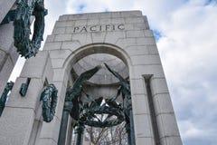 World War II Memorial, Pacific side. Washington DC, USA. Stock Image
