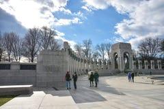 World War II Memorial, Pacific side. Washington DC, USA. Royalty Free Stock Photography