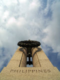 World War II Memorial - Philippines. Philippines Column Royalty Free Stock Photography