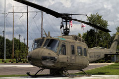 World War II Memorial 1968 Viet Nam UH-1 Huey helicopter Royalty Free Stock Images