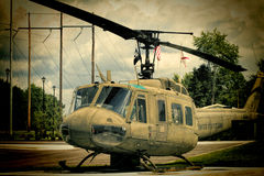 World War II Memorial 1968 Viet Nam UH-1 Huey helicopter 3 Royalty Free Stock Images