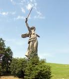 World War II Memorial in Volgograd Russia. The World War II Memorial in Volgograd Russia Royalty Free Stock Photos