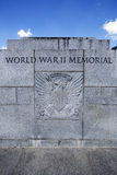World War II memorial in Washington Stock Photos