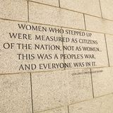 World War II Memorial in Washington, D.C., USA. Stock Images