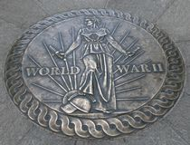 World War II Memorial Washington DC Stock Photo