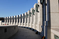 World War II Memorial Washington DC Royalty Free Stock Photo
