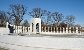World War II Memorial - Washington, DC royalty free stock photography