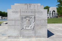 World War II Memorial Washington DC Royalty Free Stock Photos