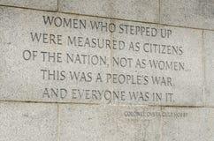 World War II Memorial - Washington DC Royalty Free Stock Photo