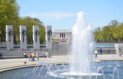 World War II Memorial, Washington DC Royalty Free Stock Image