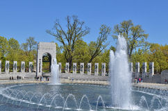 World War II Memorial, Washington DC Royalty Free Stock Images