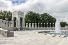 World War II Memorial Washington DC Royalty Free Stock Photography