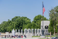 World War II Memorial Washington DC Stock Photography
