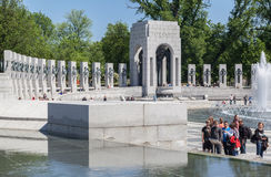 World War II Memorial Washington DC Royalty Free Stock Images