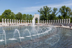 World War II Memorial Washington DC Stock Images