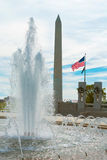 World War II Memorial in washington DC US Royalty Free Stock Image