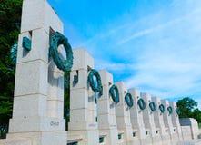World War II Memorial in washington DC USA Royalty Free Stock Photos