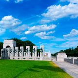 World War II Memorial in washington DC USA. At National Mall Royalty Free Stock Photography