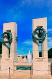 World War II Memorial in washington DC USA. At National Mall Royalty Free Stock Photos