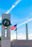 World War II Memorial in washington DC USA. At National Mall Royalty Free Stock Image