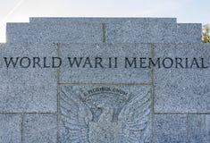 World War II Memorial in Washington DC Royalty Free Stock Photos