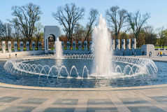 World War II Memorial. WW2 DC Washington Mall Royalty Free Stock Photo