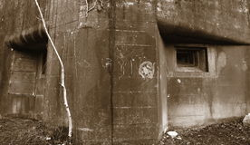 World War II Military Bunker 2 Royalty Free Stock Image