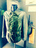 World war II military commander leather jacket. Jacket, war, museum, world war, military stock image