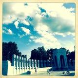World War II Monument, Washington, DC Stock Photo