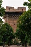 World War II Nazi flak tower. In Augarten Vienna, 04.2018 Austria Royalty Free Stock Image