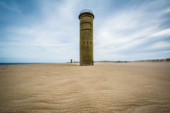 World War II Observation Tower at Cape Henlopen State Park in Re Stock Photography