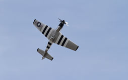 World War II P-51 Mustang Fighter Aircraft Stock Images