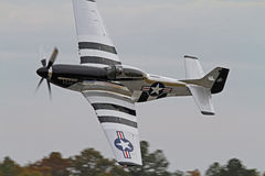 World War II P-51 Mustang Fighter Aircraft Stock Photos