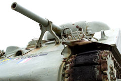 World War II Sherman Tank. France Normandy : Utah Beach. This American Sherman M4 Tank is placed as a monument at the entrance of Utah Beach where the American Stock Photos